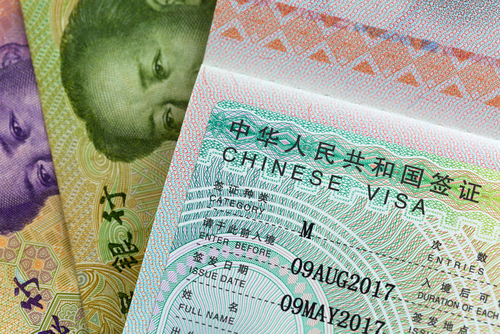 Syarat Visa China