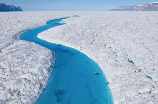 Blue River Greenland