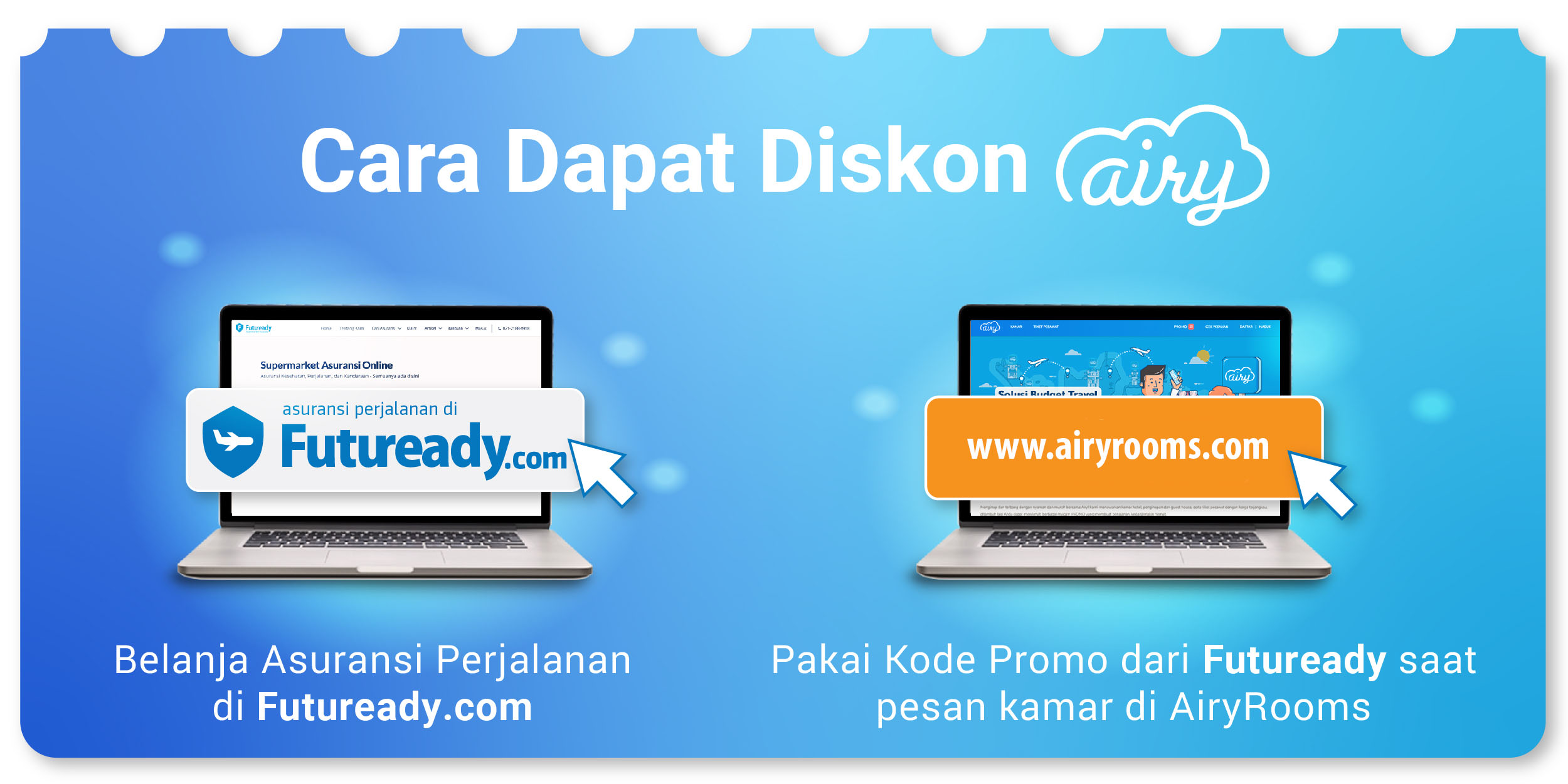 Diskon Futuready dan Airy
