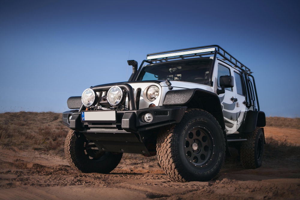 mobil offroad