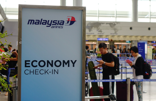 Check In Malaysia Airlines