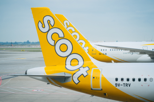 Sayap Scoot Airlines