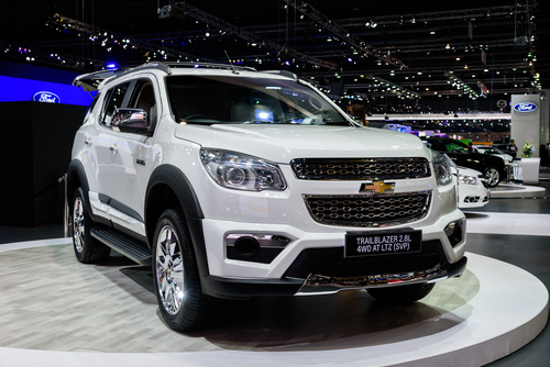 Jenis Chevrolet Trailblazer