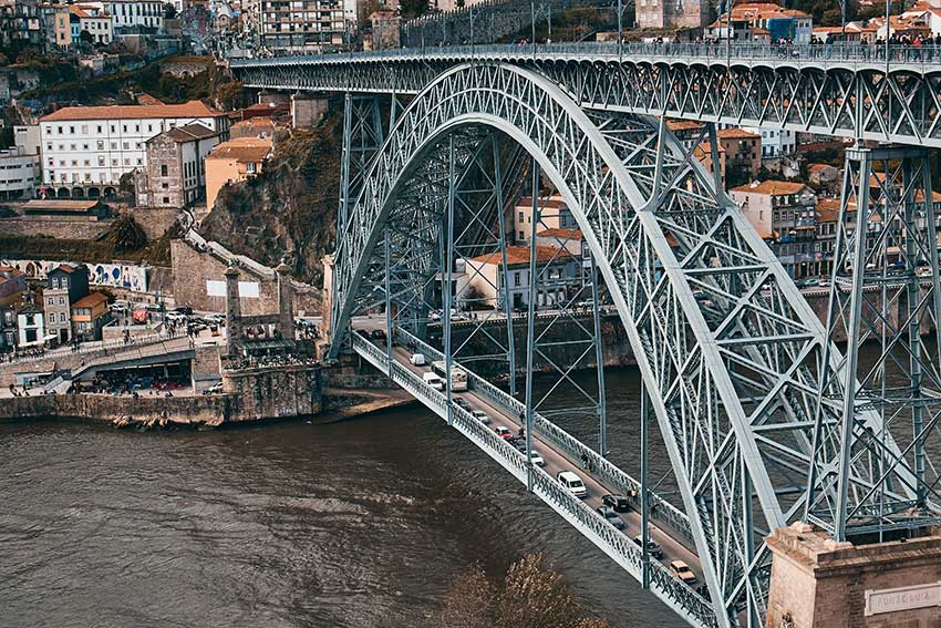 Porto Bridge Portugal