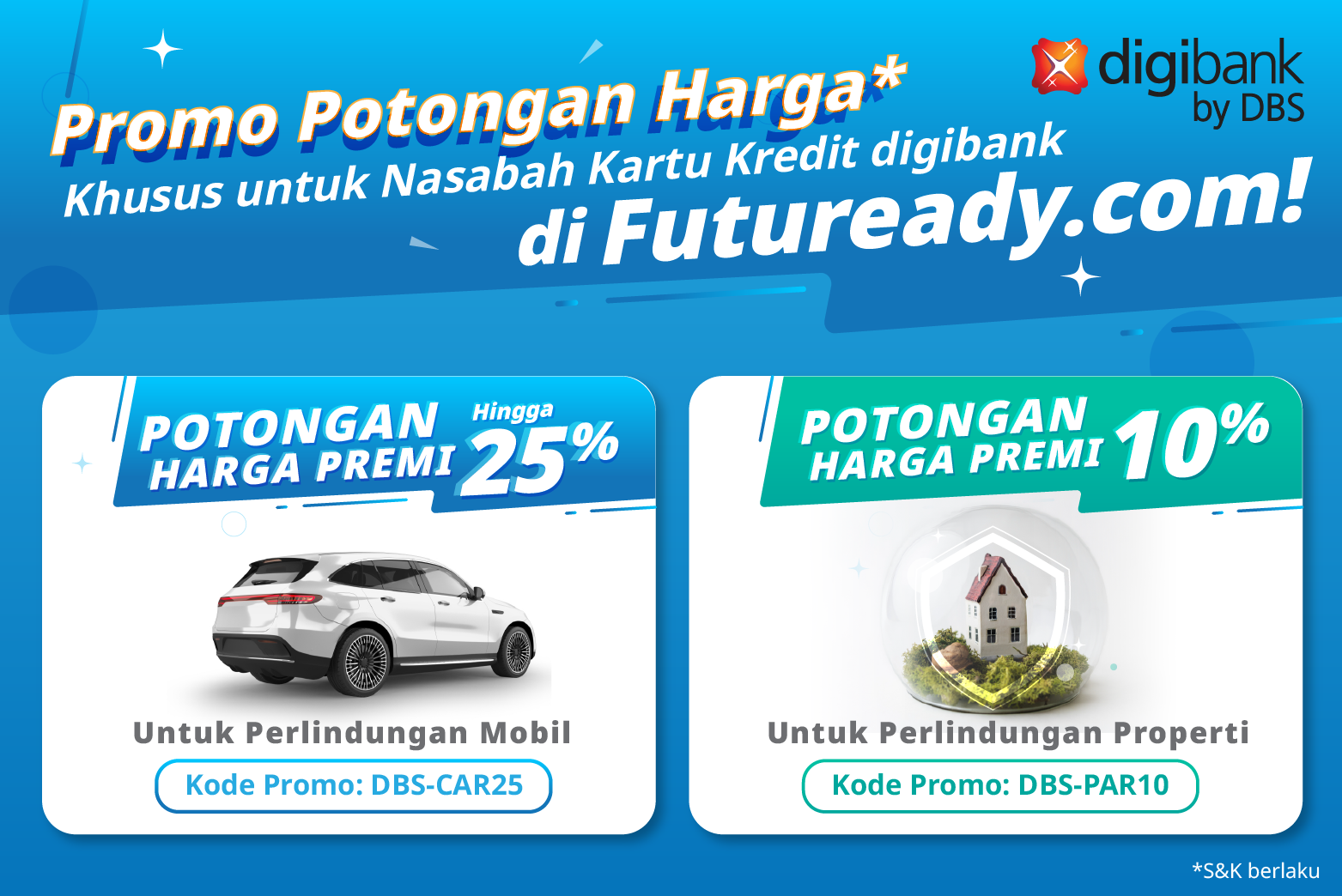 Kartu Kredit digibank X Futuready